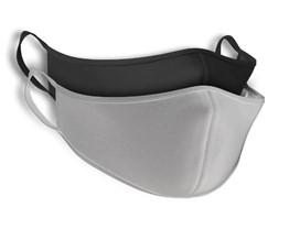 Black and white washable mask